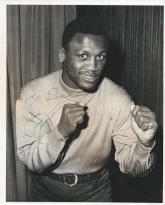 Signed photo of Joe Frazier