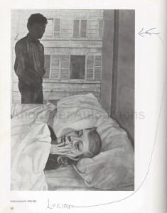 Lucian Freud catalogue