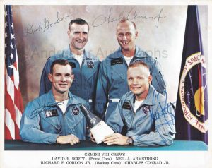 photo of Gemini 8 astronauts