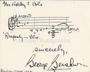 Gershwin musical quotation