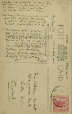 Original autograph poem by Rupert Brooke