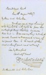 A superb autograph letter signed by Charles Dickens