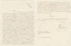 Autograph letter George Orwell