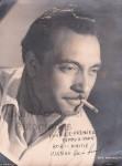 autographed photo of Reinhardt