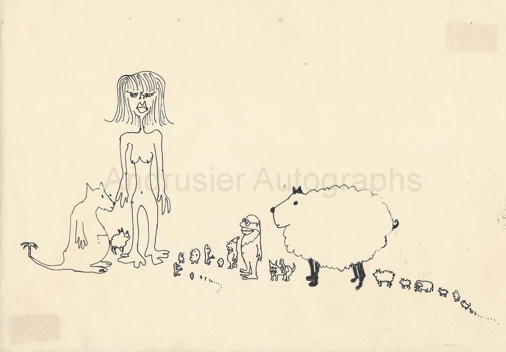 Line Drawing John Lennon : Lennon john
